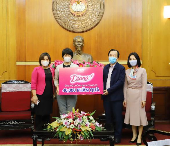 Diana đồng hành cùng phụ nữ Việt chống dịch - Ảnh 3.