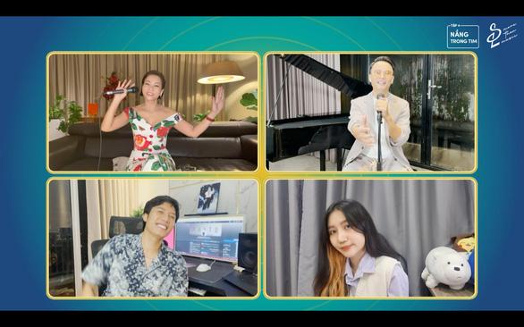 Ca sĩ Thu Minh, Hoàng Bách, Anh Tú, Orange lên sóng hát sẻ chia - Ảnh 3.