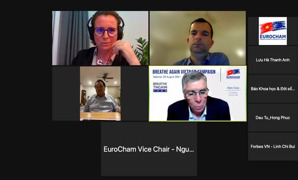 EuroCham mong muốn Việt Nam có các giải pháp sớm mở cửa hoạt động sản xuất - Ảnh 1.