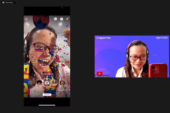 Viber thêm tính năng ống kính thực tế ảo tăng cường cho người dùng Việt Nam - Ảnh 1.