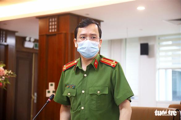 Bộ Công an sẵn sàng hỗ trợ Hà Nội trong việc cấp giấy đi đường có mã QR - Ảnh 2.