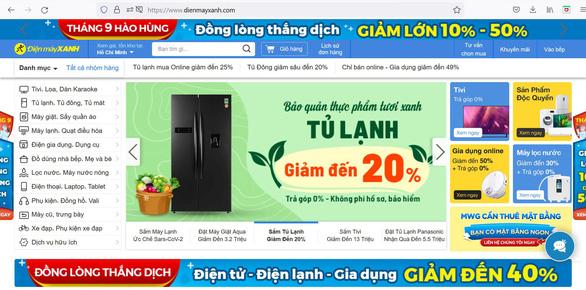 Ba trang web của MWG dẫn đầu top thương mại điện tử Việt Nam - Ảnh 1.