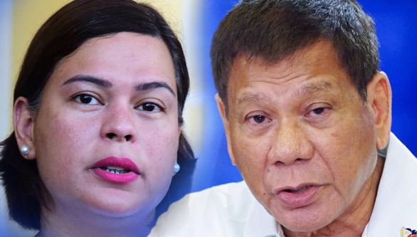 Con gái ông Duterte rút lui để cha tranh cử - Ảnh 1.