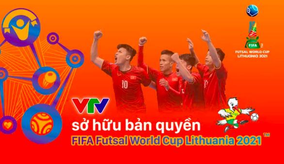 VTV sở hữu bản quyền FIFA Futsal World Cup Lithuania 2021 - Ảnh 1.