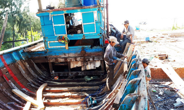 Thợ sửa tàu biển - Ảnh 3.