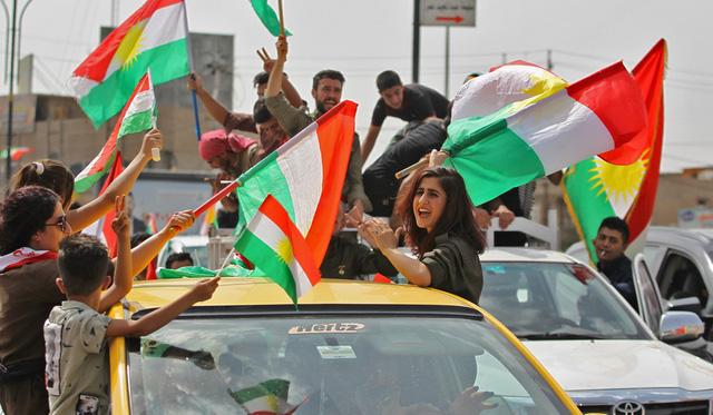 Trung Đông chưa xong IS lại gặp chuyện người Kurd - Ảnh 1.