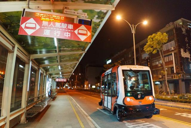 Đài Loan nuôi mộng về xe buýt điện tự lái - Ảnh 1.