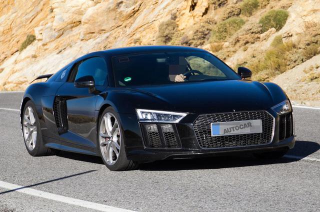 Audi R8 dùng chung động cơ V6 mới của Porsche Panamera - Ảnh 1.
