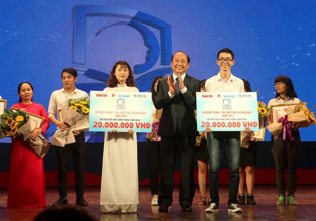 Trao thưởng Tri thức trẻ vì giáo dục năm 2017 - Ảnh 9.