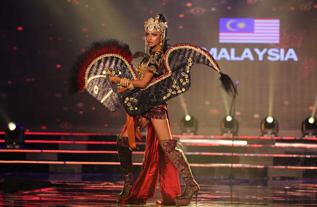 Huyền My vào top 5 được yêu thích ở  Hoa hậu hòa bình thế giới - Ảnh 11.
