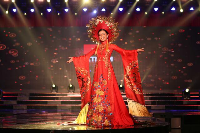Huyền My vào top 5 được yêu thích ở  Hoa hậu hòa bình thế giới - Ảnh 2.