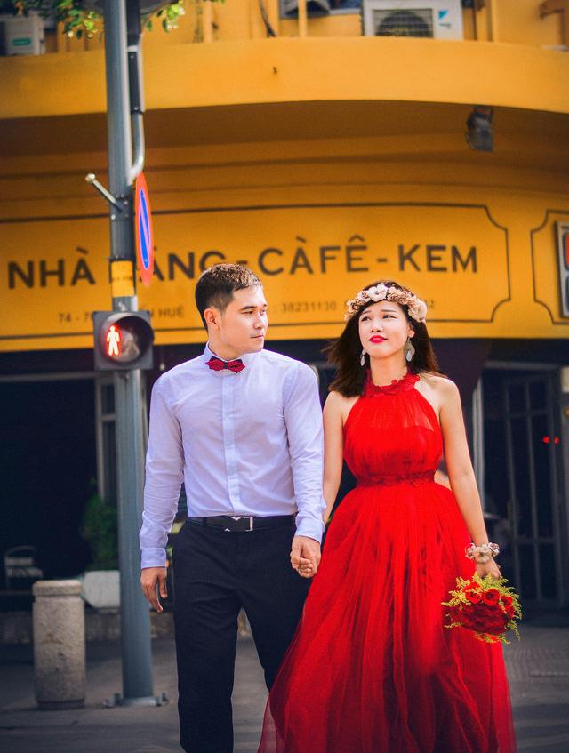 Ảnh cưới lãng mạn của cặp đôi chiến sĩ nên duyên nhờ công nghệ - Ảnh 11.