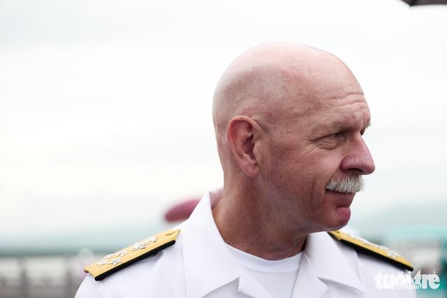 Tư lệnh Hạm đội Thái Bình Dương của Mỹ thăm bãi cọc Bạch Đằng - Ảnh 13.