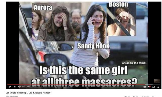 Người Mỹ nổi giận vì 'thuyết âm mưu' vụ xả súng ở Las Vegas - Ảnh 1.