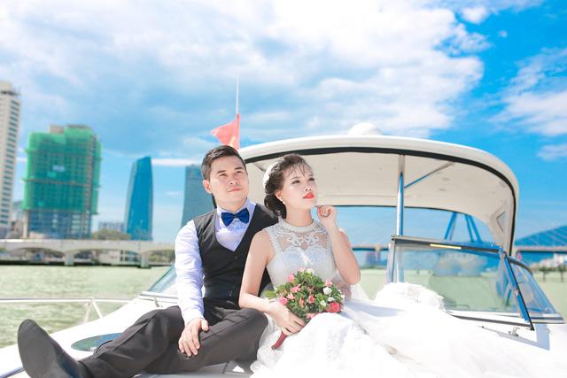 Ảnh cưới lãng mạn của cặp đôi chiến sĩ nên duyên nhờ công nghệ - Ảnh 12.