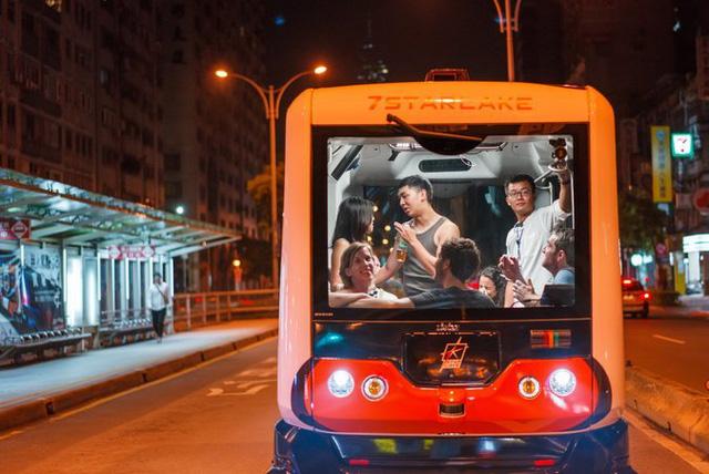 Đài Loan nuôi mộng về xe buýt điện tự lái - Ảnh 2.