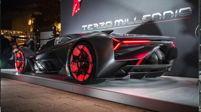 Lamborghini ra mắt siêu xe điện đầu tiên tự chữa lành vết nứt - Ảnh 2.