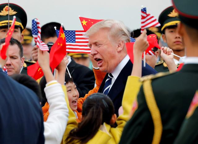 Trung Quốc đón ông Trump theo cách chưa từng có - Ảnh 3.