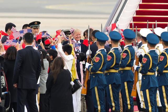 Trung Quốc đón ông Trump theo cách chưa từng có - Ảnh 4.