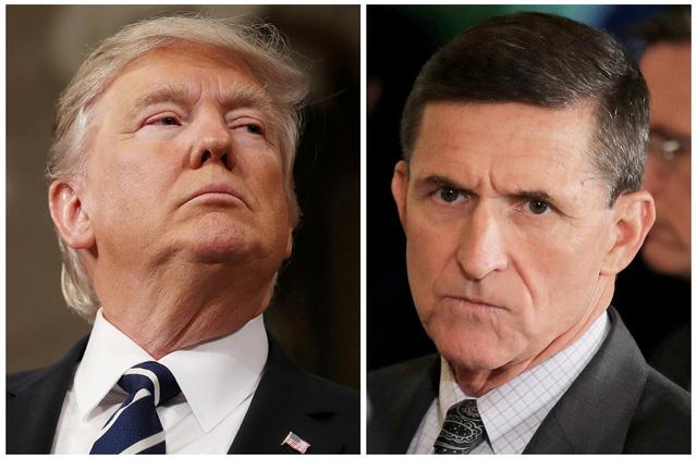 Viết sơ hở về tướng Flynn, ông Trump có thể bị bắt giò - Ảnh 1.