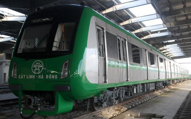 3 đoàn tàu đường sắt Cát Linh - Hà Đông đã về đến Hà Nội - Ảnh 3.