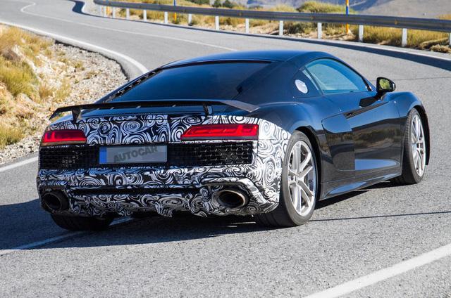 Audi R8 dùng chung động cơ V6 mới của Porsche Panamera - Ảnh 3.