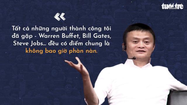 Những lời khuyên của tỉ phú Jack Ma cho giới trẻ Việt - Ảnh 3.