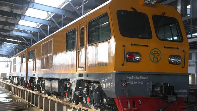 3 đoàn tàu đường sắt Cát Linh - Hà Đông đã về đến Hà Nội - Ảnh 4.