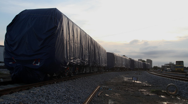 3 đoàn tàu đường sắt Cát Linh - Hà Đông đã về đến Hà Nội - Ảnh 6.
