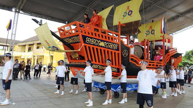 Người Nhật tặng Châu ấn thuyền cho Hội An - Ảnh 7.