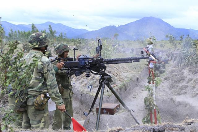 Bộ binh cơ giới Quân đoàn 3 diễn tập bắn đạn thật - Ảnh 6.
