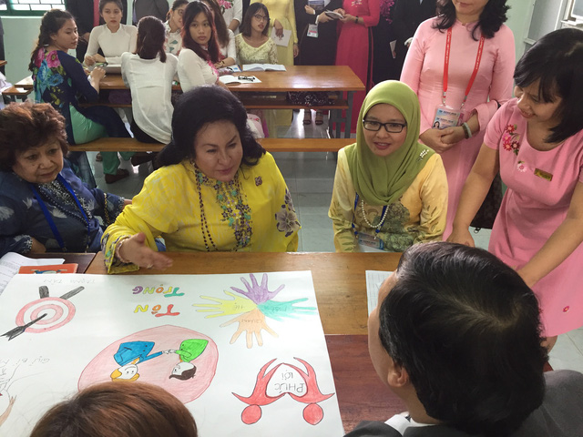 Phu nhân Thủ tướng Malaysia thăm Đại học Sư phạm Đà Nẵng - Ảnh 5.