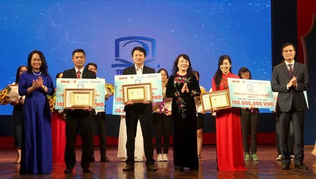 Trao thưởng Tri thức trẻ vì giáo dục năm 2017 - Ảnh 1.