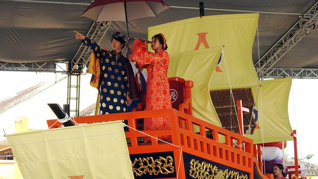 Người Nhật tặng Châu ấn thuyền cho Hội An - Ảnh 10.