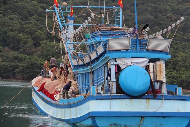 Kiên Giang còn hơn 1.200 tàu cá chưa vào bờ - Ảnh 1.