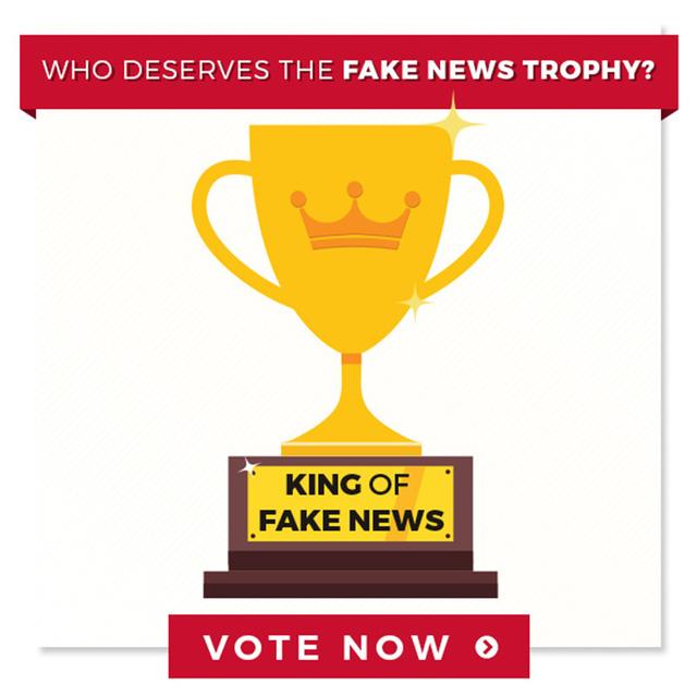 Ông Trump đề cử CNN, ABC và TIME cho danh hiệu Cúp Tin giả - Ảnh 1.