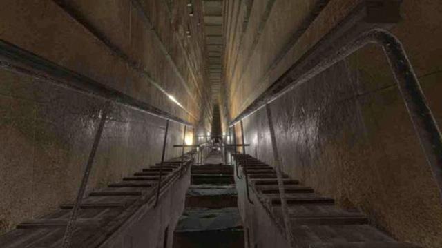 Vừa tìm thấy phòng rộng 30m trong Đại Kim Tự Tháp Giza - Ảnh 1.