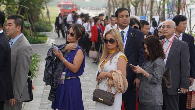 Tổng thống Trump sẽ phát biểu tại APEC CEO Summit - Ảnh 1.