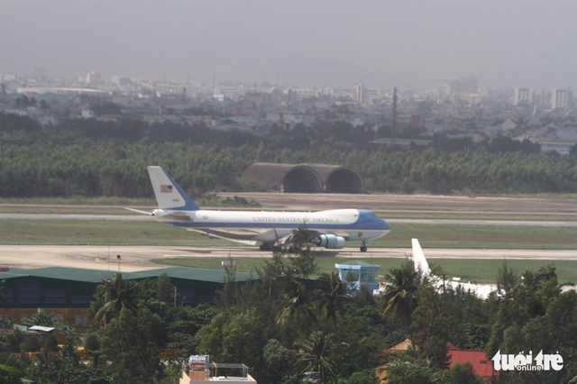 Tổng thống Donald Trump đã đến Đà Nẵng - Ảnh 1.