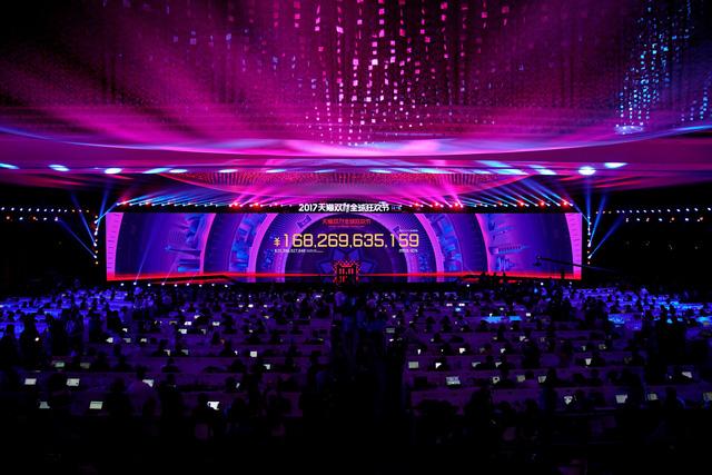Alibaba thu mỗi giờ hơn 1 tỉ USD trong 'ngày độc thân' - Ảnh 1.