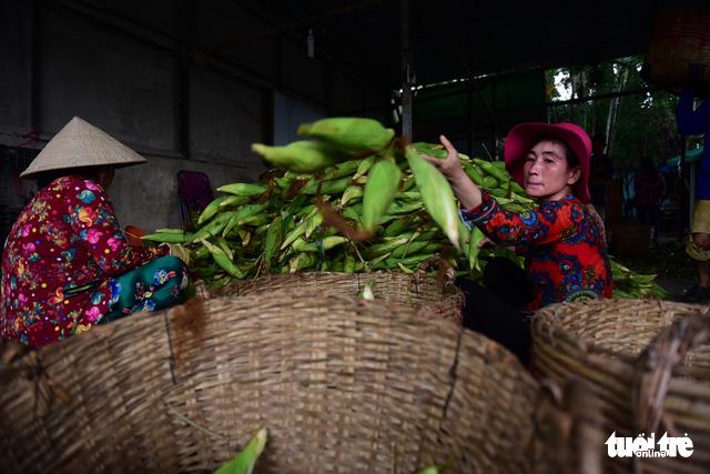 Tấp nập kẻ mua người bán tại chợ bắp lớn nhất Sài Gòn - Ảnh 4.