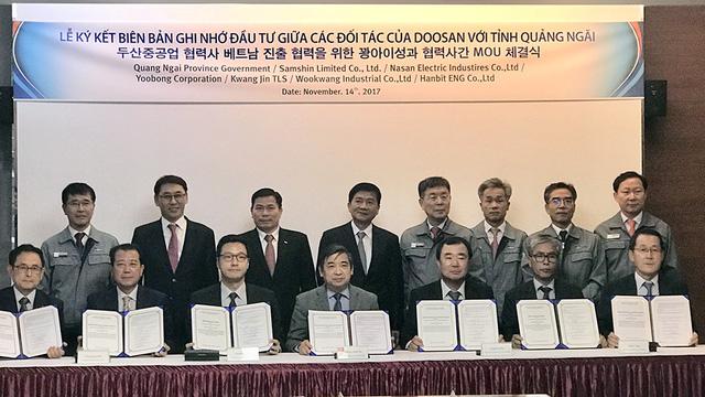 6 dự án được trao chứng nhận đầu tư vào Khu kinh tế Dung Quất - Ảnh 2.