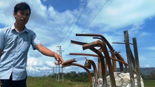 Hơn 400 cột điện gãy trong bão số 10 do dùng lõi thép chữ V? - Ảnh 3.