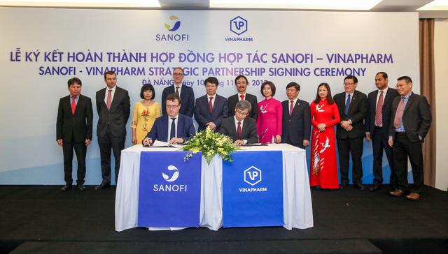 Sanofi hợp tác cùng Vinapharm sản xuất thuốc tiêu chuẩn cao - Ảnh 1.