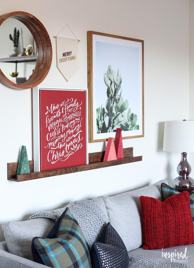 12 mẫu trang hoàng Giáng sinh dễ làm tại nhà - Ảnh 5.