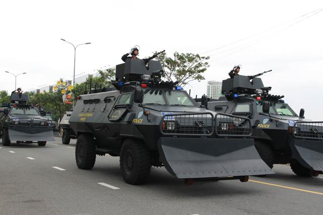 Diễn tập phương án chống khủng bố bảo vệ APEC - Ảnh 8.