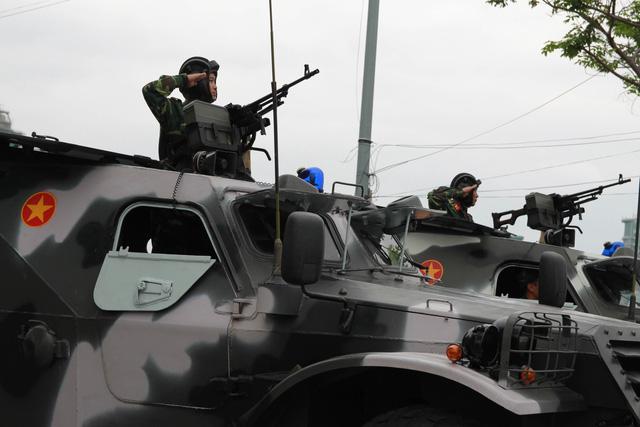 Diễn tập phương án chống khủng bố bảo vệ APEC - Ảnh 11.