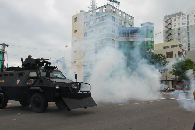 Diễn tập phương án chống khủng bố bảo vệ APEC - Ảnh 19.