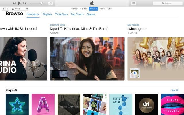 Suboi - nghệ sĩ Việt đầu tiên có banner trên Apple Music - ảnh 2