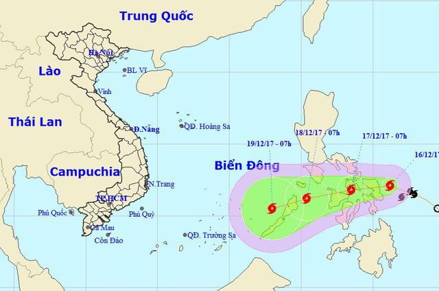 Miền Bắc rét đậm, bão gần Biển Đông vẫn phức tạp - Ảnh 1.